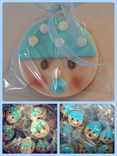 Mavi Kurabiyeler - Bebek Kurabiyeleri Blue cookies - New born Cookies  İstediğiniz sayı ve şekilde bebek karşılama kurabiyeleri