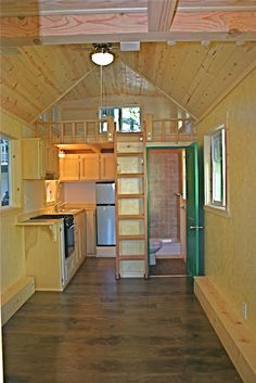 LOVE this tiny house from Molecule Tiny Homes