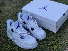 Jordan 4, Nike Jordan Retro 4, White Nike Shoes, Nike Air Shoes, Sneakers Fashion, Fashion Shoes, Shoes Sneakers, Kd Shoes, Air Jordan Sneakers