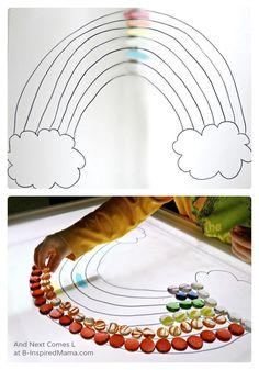 Resultado de imagen para rainbow light table