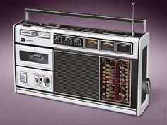 Grundig Radio Cassette Recorder C6200 (Illustration) | Flickr