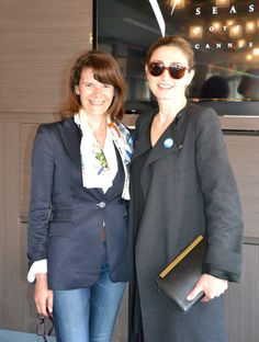 Petite pause détente au Five Seas Hotel avec le partenaire Bellefontaine Switzerland représenté par Armelle Deboichet !