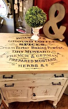 Painted Kitchen Island - Reader Featured Project - The Graphics Fairy