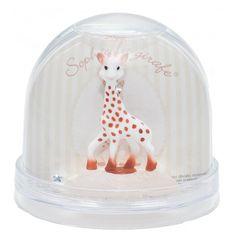 Boule à neige Sophie la girafe Trousselier
