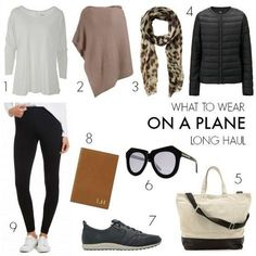 11 tips for what to wear on a plane – travel outfit plane long flights Travel Wear, Travel Outfit Summer, Travel Style, Travel Fashion, Travel Plane, Travel Boots, Travel Capsule, Comfy Travel Outfit, Travel Design