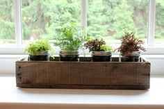 Rustic Barn Wood 20 Box centerpiece mantle by LennyandJennyDesigns