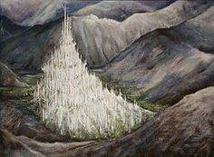 Hiden Kingdom of Gondolin – where Turgon was King, his sister Aradhel met Eol and had a son Maglor. Gil-galad lived there, Glamdring was his sword. Lord Elrond grew up there