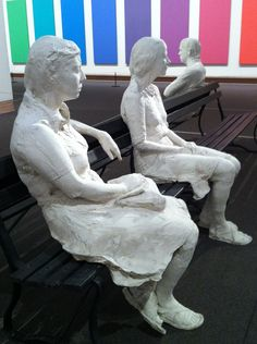 George Segal Modern Art Sculpture, Sculpture Ideas, George Segal, Installation Art, Contemporary Artists, Painting & Drawing, Illustrators, Pop Art, Human Figures