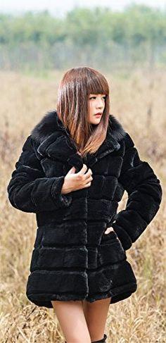 Furfox レディース レッキスラビットファー フォックスファーの毛襟 毛皮 コート アウター ジャケット ブルゾン (S) Furfox http://www.amazon.co.jp/dp/B00Q00MCU0/ref=cm_sw_r_pi_dp_1cYDub084NDZX