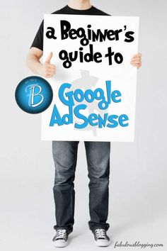 Beginner's Guide to Setting up Google AdSense on Your Blog - A Fantastic, easy to follow, step-by-step process for setting up google adsense.