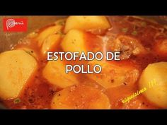 Estofado de Pollo ( receta peruana ) - riquisimo!! Tonight's dinner. Jason enjoyed it!
