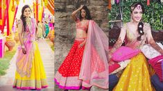 Anushree Reddy's 2016 collection is every bride's dream, with colors to match every personality. Though the collection predominantly consists of subtle and pastel colors, it also has splashes of fl...