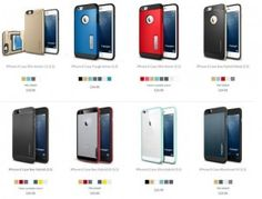 Cover cases by Spigen for the new flagships of Apple iPhone series are up-for-sales - News Phones