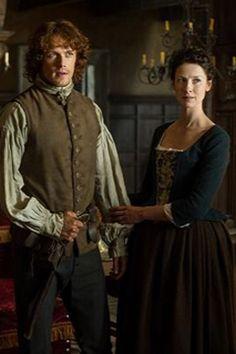 #Outlander Claire Jamie