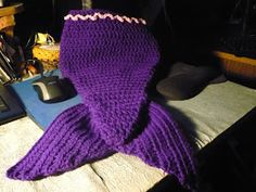 Stitches: free pattern Crochet Mermaid Tail