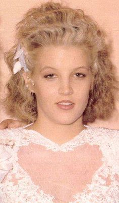 Lisa Marie Presley at 18