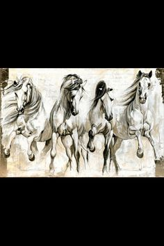 Just have one of the horses be a tat