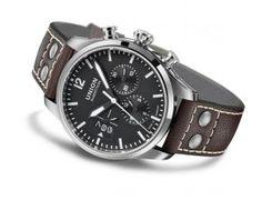 DerAlpina Startimer Pilot Big Date Chronograph bringt klassisches Design und moderne Technik zusammen. Mit seinem klar ablesbaren Zifferblatt, den drei Zusatzanzeigen und dem großen Datum zeigt di…