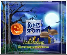 ritter sport fake sorte schokoladens nde schaurig sch ne halloween teuflisch. Black Bedroom Furniture Sets. Home Design Ideas