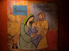 Página Litúrgica para Febrero: Mes de la Sagrada Familia