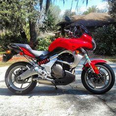 My 2008 Kawasaki Versys Kawasaki Cafe Racer, Kawasaki Motorcycles, Er6n, Versys 650, Cafe Racers, Bike, Adventure, Vintage, Cars