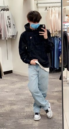 Street Style Outfits Men, Stylish Mens Outfits, Mode Outfits, Casual Outfits, Looks Style, Looks Cool, Retro Outfits, Vintage Outfits, Teenage Boy Fashion