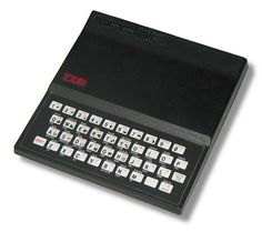Sinclair ZX81 - the first cheap, mass-marketed home computer.