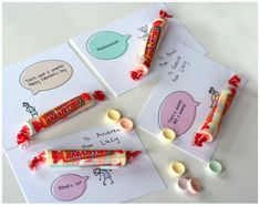 Smarties Printable Valentines