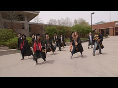 """CAN'T STOP THE FEELING!"" - UW-Milwaukee Graduation Edition - YouTube"