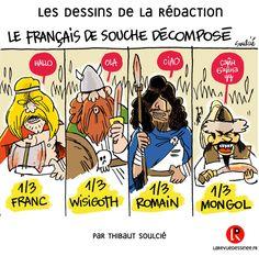 """il est beau le """"Français de souche"""""""