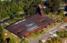 The de Young museum - Bank of America offers free admission the first weekend of every month