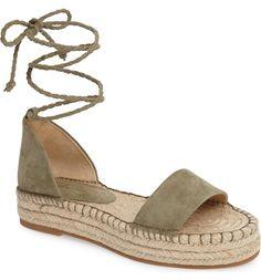 Main Image - Splendid Eliza Platform Ankle Wrap Espadrille (Women)
