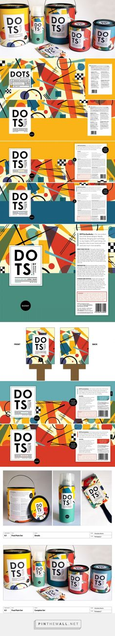 DOTS: Paint by Kandinsky on Behance... - a grouped images picture - Pin Them All