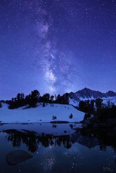 Milky Way Near Ruwau Lake