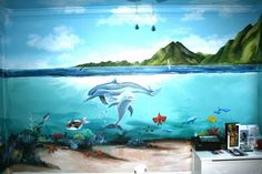 kids underwater murals - Google Search