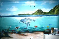 Underwater Bedroom - Mural Idea in Berkeley CA