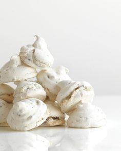 Chocolate-Peanut Meringue Kisses - Martha Stewart Recipes