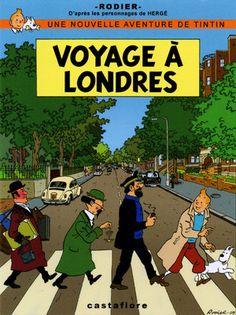 Tintin in London :)