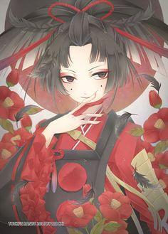 「【刀剣乱舞】小烏丸」/「Mochi」[pixiv]