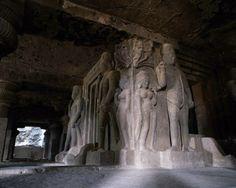 Ellora Caves, 6th century, near Aurangubad, India