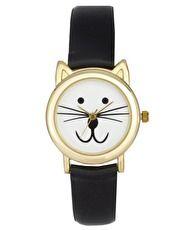 ASOS – Armbanduhr mit Katzenohren