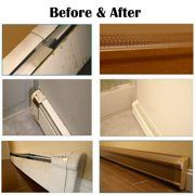Home Improvement Baseboard Heating Baseboard Heater Covers Baseboards