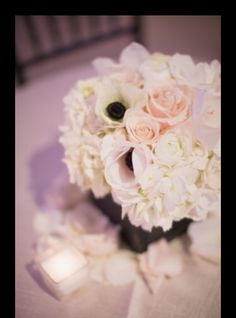 Florals by Jenny is an Orange County florist located in Laguna Beach, California. Wedding and Event Florist serving Orange County, San Diego County, Los Angeles Flower Centerpieces, Flower Decorations, Wedding Centerpieces, Wedding Decorations, Table Decorations, Wedding Ideas, Blush Flowers, Wedding Flowers, White Anemone