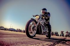 Sweet shot of a bike at The Mile!