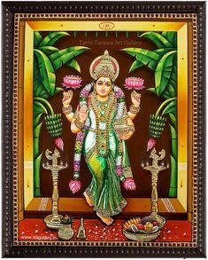 Original hand made tanjore paintings Mysore Painting, Tanjore Painting, Indian Artwork, Indian Art Paintings, Wall Drawing, Art Drawings, Durga Puja Wallpaper, Saraswathi Devi, Indian Traditional Paintings