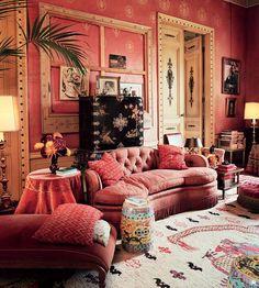 Dries Van Noten's drawing room. Dries Van Noten's Neoclassical Lier home evokes another era Decoration Inspiration, Interior Inspiration, Decor Ideas, Living Room Decor, Bedroom Decor, Living Rooms, Romantic Room, Room Interior Design, Interior Designing