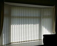 08/05/2014 #Vertical #blinds for the bay window.  #Prestatyn #Denbighshire http://blindsprestatyn.co.uk