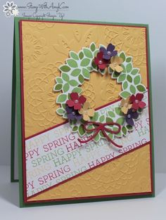 Wondrous Wreath, Wonderful Wreath Framelits, Lovely Lace EF, Crazy About You, Itty Bitty Accents Punch Pack - FMS174