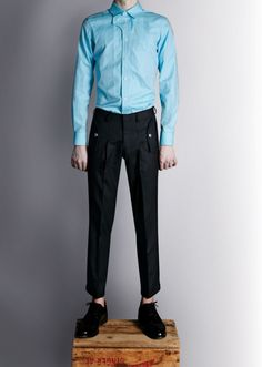 Duly Equipped FW2012 lookbook, the shirt!!!!