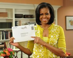 President Obama and First Lady Michelle Obama said Monday they are both voting early, a nod to the campaign's efforts to encourage supporters to vote absentee by mail or cast their ballot at an early voting location. Michelle Obama, American First Ladies, Presidential Inauguration, Early Voting, Before Us, Mellow Yellow, Bright Yellow, Barack Obama, Role Models